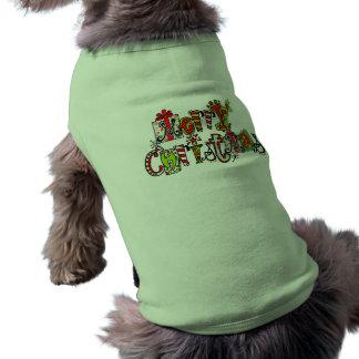 Merry Christmas Pet Shirt