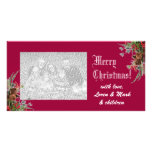 Merry Christmas Photo Card -cherry