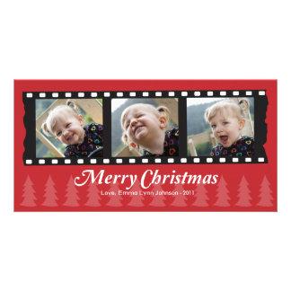 Merry Christmas Photo Card for 3 photos