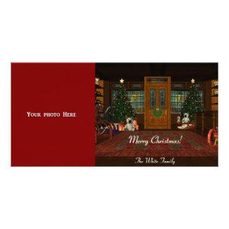 Merry Christmas Photo Card Template