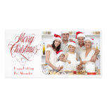 Merry Christmas Photo Card Template Insert Picture