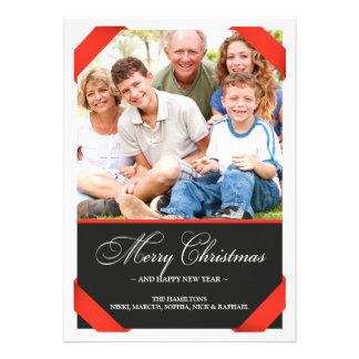 Merry Christmas Photo Flat Card