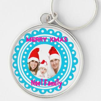 Merry Christmas Photo Keychains-Stocking Stuffer Keychain