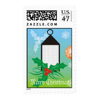 Merry Christmas Photo Template Stamp