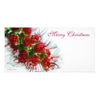 Merry Christmas Photocard Photo Card