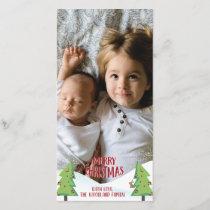 Merry Christmas Photocard Holiday Card