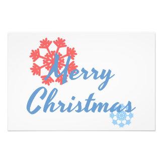 Merry Christmas Photo Print