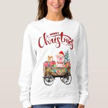 Merry Christmas Pig Sweatshirt