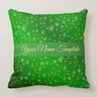 merry christmas pillow,,temlate, floral holiday, throw pillow