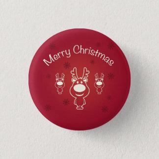 Merry Christmas Pinback Button