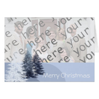 Merry Christmas Pines - Card