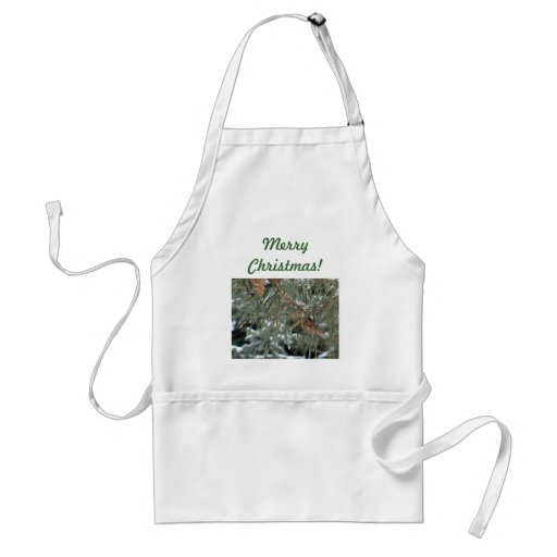 Merry Christmas! Pinetree Design Apron