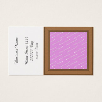 merry christmas pink business card