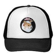 Merry Christmas Pippin Oval Trucker Hat