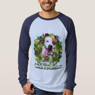 Merry Christmas Pitbull Shirt