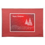 Merry Christmas Placemats Cloth Place Mat