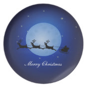 Merry Christmas Plate plate
