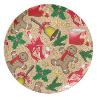 Merry christmas plates