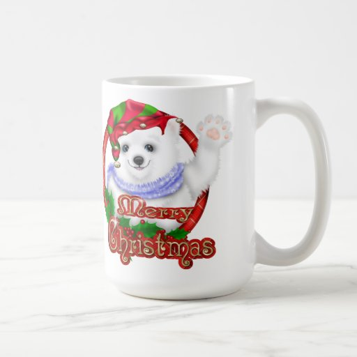 Merry Christmas Polar Bear Classic White Coffee Mug