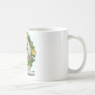 Merry Christmas Poodle Coffee Mug