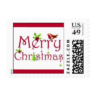 Merry Christmas - Postage