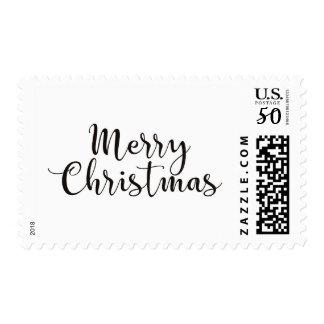 Merry Christmas Postage