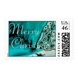 Merry Christmas Postage 3