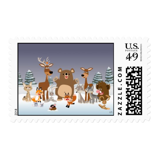 Merry Christmas!! postage stamp