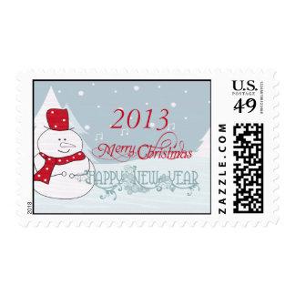Merry Christmas Postage Stamp #4