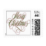 Merry Christmas! Postage Stamp Small