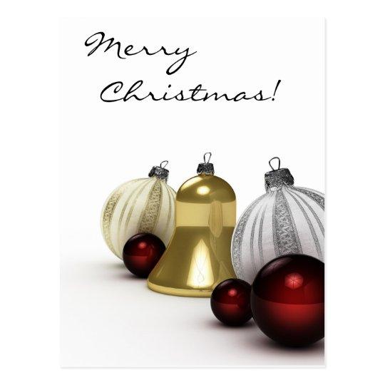 Merry Christmas - Postcard