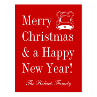 Merry Christmas postcards | personalized greetings