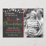 "Merry Christmas pregnancy chalkboard announcement<br><div class=""desc"">♥ An adorable way to announce your pregnancy,  with a Christmas theme. You can add your own photo!</div>"