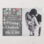 "Merry Christmas pregnancy chalkboard announcement<br><div class=""desc"">♥ An adorable way to announce your pregnancy! Christmas theme.</div>"