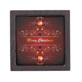 Merry christmas premium trinket box