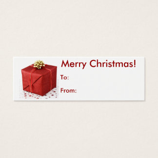 Merry Christmas Present Tag