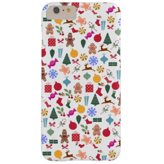Merry Christmas Print Barely There iPhone 6 Plus Case