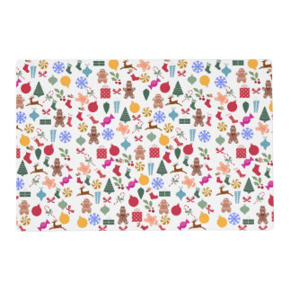 Merry Christmas Print Placemat