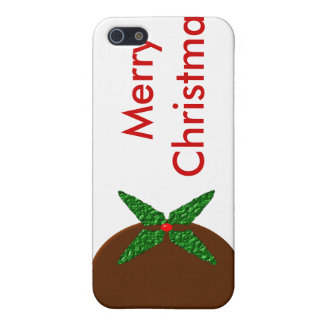 Merry Christmas Pudding  iPhone SE/5/5s Case