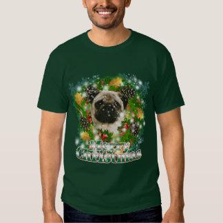 Merry Christmas Pug Shirt