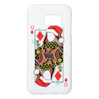 Merry Christmas Queen of Diamonds-Add Your Images Samsung Galaxy S7 Case