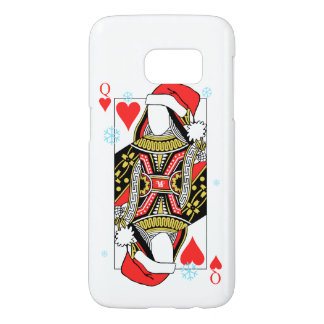 Merry Christmas Queen of Hearts - Add Your Images Samsung Galaxy S7 Case