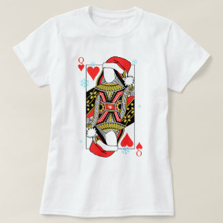 Merry Christmas Queen of Hearts - Add Your Images T-Shirt