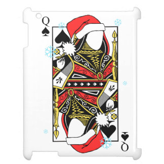 Merry Christmas Queen of Spades - Add Your Images Cover For The iPad