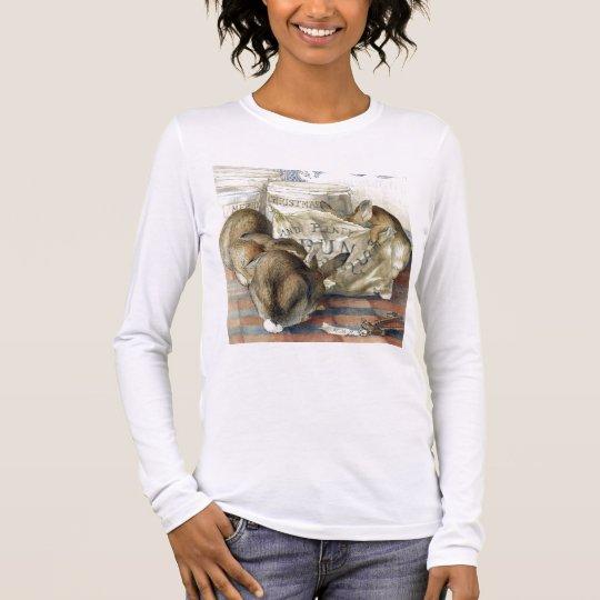 Merry Christmas Rabbit T-Shirt Top