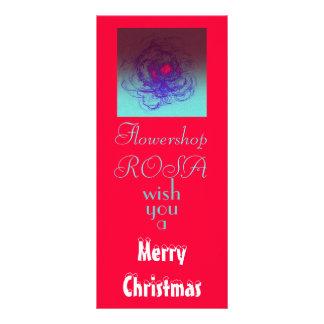 merry christmas.. rack card