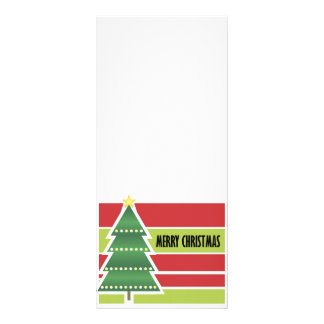 Merry Christmas Rack Card