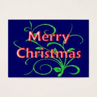 Merry Christmas Recipe Cards