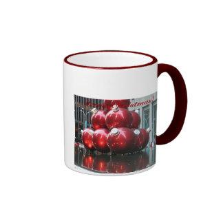 Merry Christmas!  Red Balls Mug
