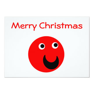 Merry Christmas Red Card
